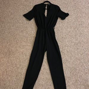 American Apparel black jumpsuit 🕶✨